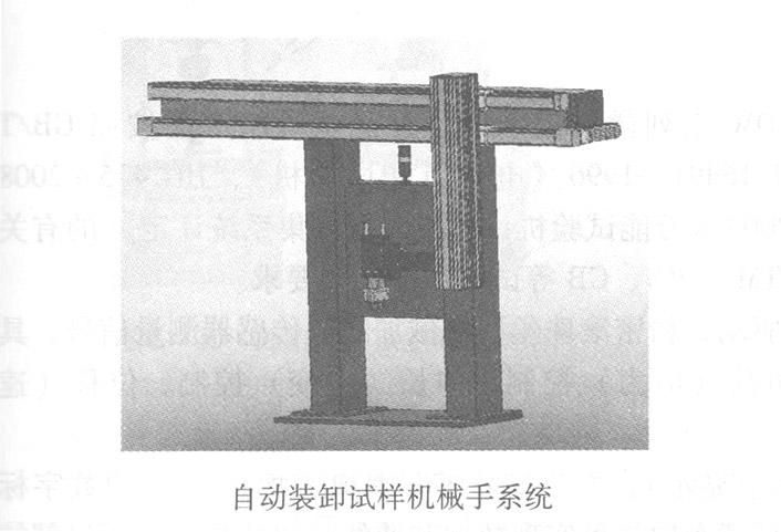 自动装卸试样机械手系统
