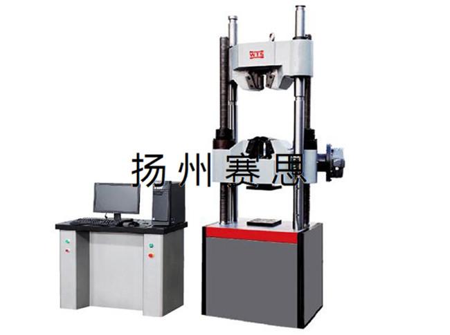 电子万能试验机的转换装置试验